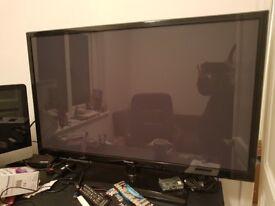 Samsung 43 inch Plasma TV with Chromecast