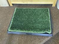 Sailnovo Dog Toilet Puppy Toilet with Artificial Grass RPP £47