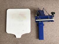 Screen printing table kit