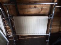 Vintage bathroom radiator