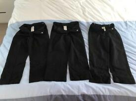 3 x children's school trousers (4-5years old)