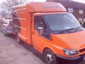 Mobile workshop race van camper Must see