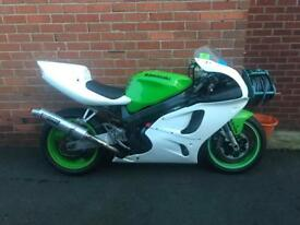 Kawasaki ZX7R race/track day bike