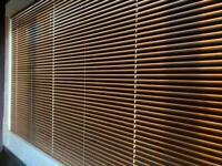 Aluminium Oak Effect Venetian Blind
