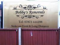 Bobbys removals Local or long distance. No obligatiin quote. No job to small