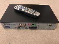 Sky Box with Hard Drive remote and Cables