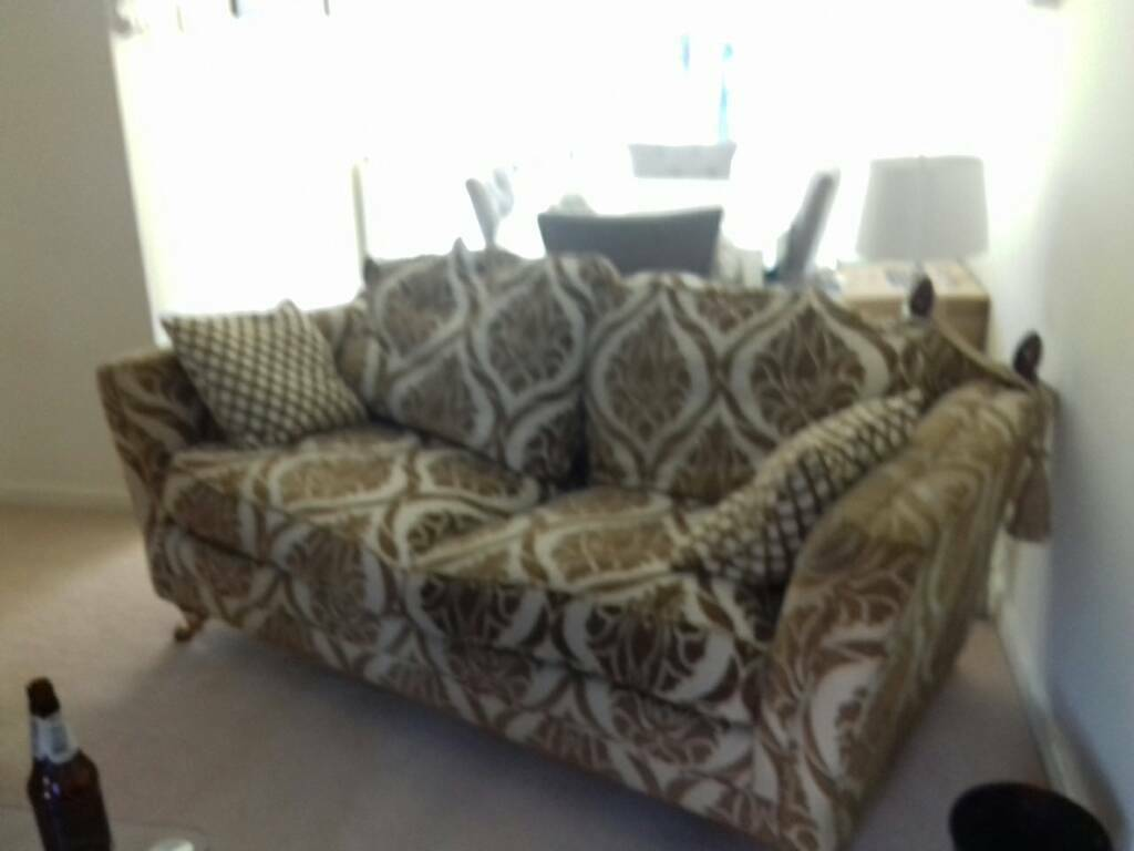 Duresta Knole Style Sofas And Footstool