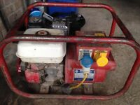 Honda petrol generator 5hp