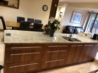Sigma Kitchen with Large Granite Worktops and Bosch appliances