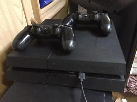 Ps4 2 controllers 12 games