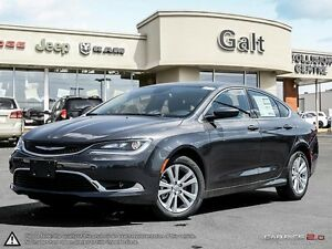 2016 Chrysler 200 | LIMITED | X COMPANY DEMO | BACK UP CAM | 8.4