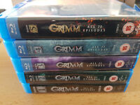 Grimm Complete Blu Ray Set 1 - 5