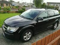 Dodge Journey SXT CRD Aug 2010 O.N.O 7 SEATER