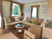 Static caravan for sale at Tattershall Lakes Country Park Lincolnshire near Skegness not Butlins