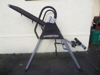 Inversion Table XJ-I-01 with DVD, Instructions and Tools