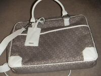 ( New with tag ) DKNY monogram laptop bag / crossbody / messanger bag £65