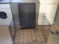 Medium good size dog cage for sale