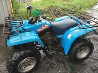 Yamaha big bear 350 farm quad