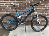 "Trek Fuel EX 9.8 Carbon Mountain Bike - virtual 18.5"" actual 17.5"""