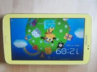 Samsung Galaxy Tab 3 Kids (7.0 tablet) with parental control & Reversible microUSB Great condition