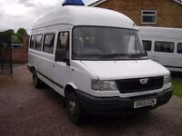 LDV minibus one owner ,12 months mot,ideal camper conversion,