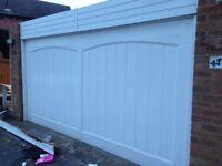 Garage Door - DOUBLE GARAGE DOOR