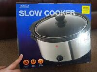 New Boxed Tesco 3.3Litre 3 Heat Settings Slow Cooker Only £10