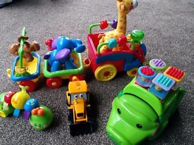 Selection of Baby / Toddler Toys. Fisher Price, Vtech etc