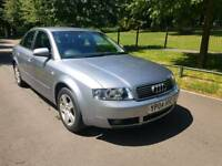Audi A4 petrol 11 main dealer stamps les than half price sale. £650 toyota honda bmw.vauxhall