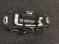 Slazenger cricket kit bag with wheels. (Juniors)