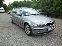 2005 BMW TOURING 320 SE 'AUTO' 2.0D--NEW MOT--96K MILES--5 STAMPS