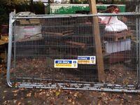 Heras fencing/security fencing