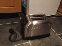 Sliver toaster n kettle