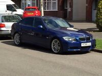 Bmw 320d m sport le mans, black heated leather fsh