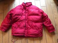 Vintage 90's super oversized Nike puffer jacket