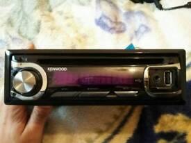 Kenwood 50x4 USB Aux Mp3 car stereo car radio tuner car headunit car cd player MINT!