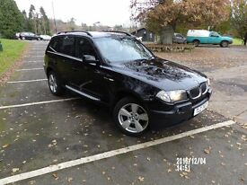 Bmw x3 2.0d sport for sale/drop price