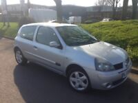 2005 RENAULT CLIO 1.2 **EXCELLENT CONDITION LONG MOT CHEAP RUNNING COSTS**