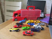 Truck With Mini Cars