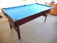 6 x 3 Pool table