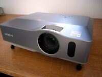 Hitachi ED=X33 video projector and DVD pl;ayer