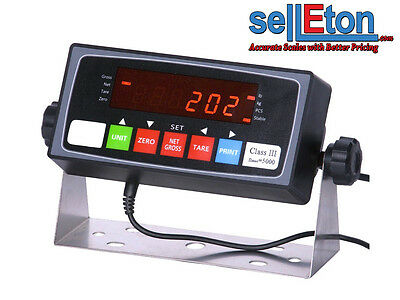 Prime Scales PS-IN202 NTEP Legal For Trade Indicator / Floor scale / any size!