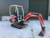 Kubota KX 36-3 1.5 ton Mini Digger, 2 Buckets *Finance Available* Auxiliary Hydraulics,.