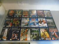 SONY PS2 GAMES BUNDLE TOP TITLES.