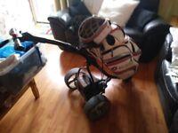 Motocaddy golf trolly