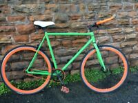 Large Fixie Single Speed Bike 60cm Easy Fix FLIP FLOP WHEEL
