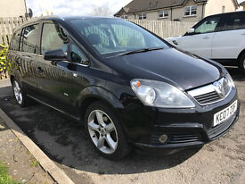 2007 Vauxhall Zafira 1.8 SRi, 5 door, ** 7 SEATER ** LOW MILEAGE **
