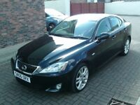 2006 06 LEXUS IS 220D 2.2TD SPORT 6 SPEED ** DIESEL ** 84300 MILES ** MOT APRIL 2019 **