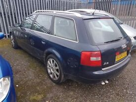 AUDI A6 1.9 TDI AUTOMATIC, SOLD AS SPARE OR REPAIR,, RUNS AND DRIVES,,, CHEAP RUNABOUT CAR,,,