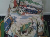 Thomas tank engine bean bag for sale good condition no rips clean and tidy collection only.